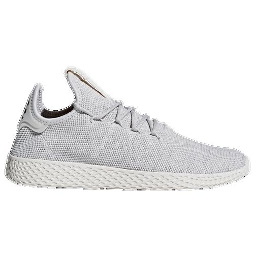 adidas originali pw tennis hu uomini scarpe casual grigio / grigio / bianco