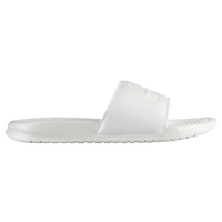 882b914d3830 Nike Benassi Swoosh Slide - Women s - Casual - Shoes - Metallic Sum ...