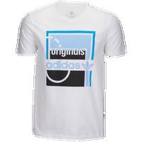 28307586ba3b adidas Originals Graphic T-Shirt - Men s - White   Light Blue