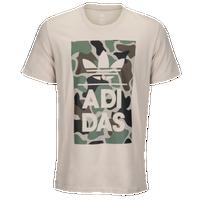 7d5b48e7a78 adidas Originals Graphic T-Shirt - Men's - Off-White / Green