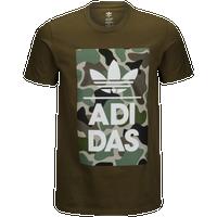 17666397ac99 adidas Originals Graphic T-Shirt - Men s - Olive Green   Green