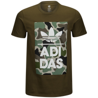 7b5e8141ae99 adidas Originals Graphic T-Shirt - Men s - Olive Green   Green
