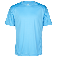 Badger Sportswear Tonal Blend Panel S/S T-Shirt - Men's - Light Blue / Light Blue