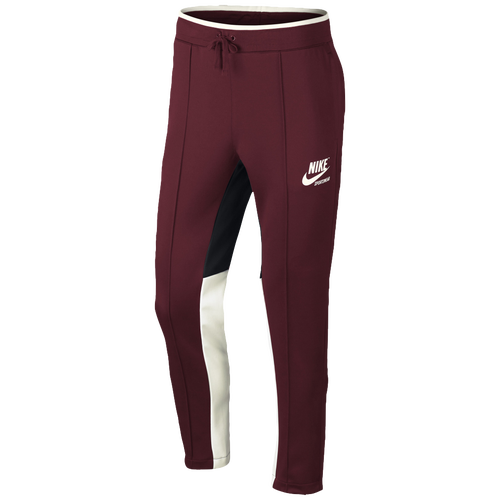 Nike Archive Track Pants - Men's - Casual - Clothing - Team Red/Black /Sail/Sail