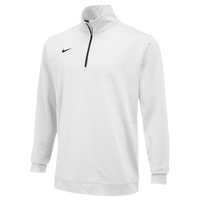 Nike Team Dri-FIT 1/2 Zip - Men's - All White / White