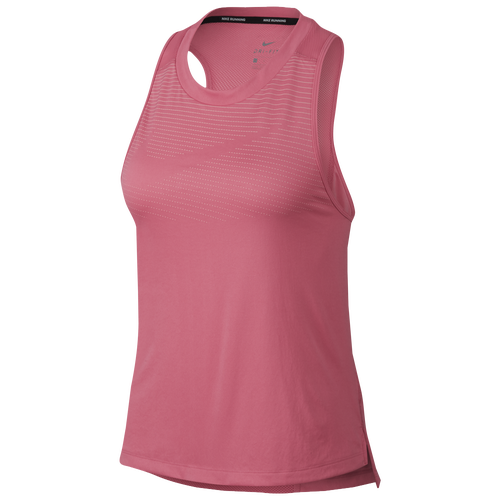 d54089cd3e7711 Nike Dry Miler Tank - Women s - Clothing - Sea Coral Tropical Pink