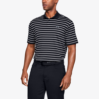 Under Armour Performance Golf Polo 2.0 Divot Stripe - Men's - Black