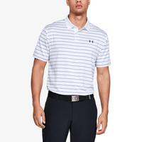 Under Armour Performance Golf Polo 2.0 Divot Stripe - Men's - White