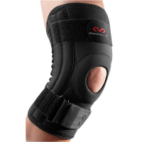 McDavid Knee Support w/ Stays - Black / Black