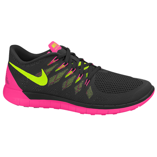 Nike Free 5.0 2014 - Women's Black/Hyper Pink/Anthracite/Volt 42199002