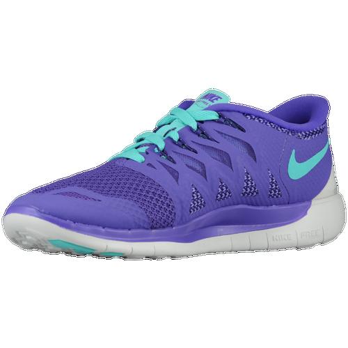 42199502 Womens Nike Free 5.0 2014 - Hyper Grape/Court Purple/Summit White