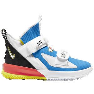 Nike Lebron Soldier Xiii Sfg Men S Basketball Shoes James Lebron Light Photo Blue Black
