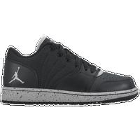 innovative design 04089 4c7f7 Jordan 1 Flight 4 Low - Boys  Grade School - Black   Grey