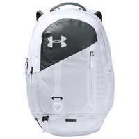 Under Armour Hustle Backpack 4.0 - White / Grey