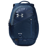 Under Armour Hustle Backpack 4.0 - Navy / Silver