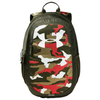 Under Armour Scrimmage Backpack 2.0 - Olive Green / Red