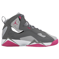 air jordan shoes for girls grey. jordan true flight - girls\u0027 grade school grey / white air shoes for girls k