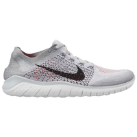 Nike Free Rn Flyknit 2018 Men S Running Shoes White Black