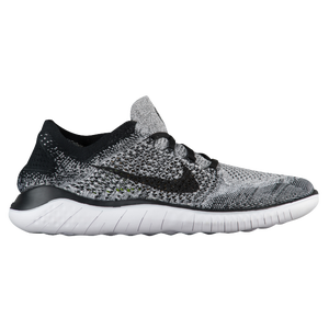 b340fc1762334 Nike Free RN Flyknit 2018 - Men s - Running - Shoes - White Black