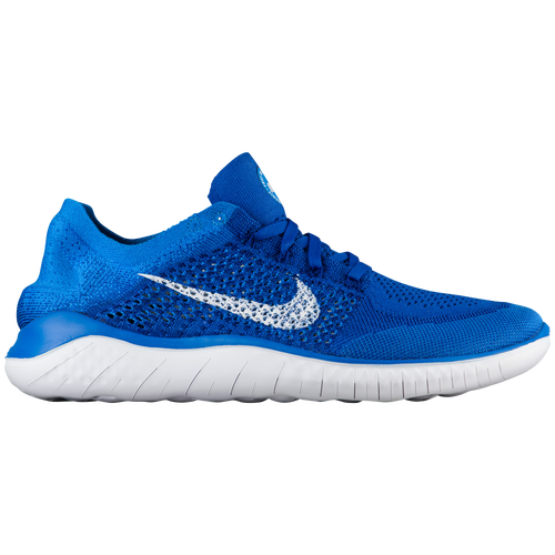 f50887d79781 Nike Free RN Flyknit 2018 - Men s - Running - Shoes - Game  Royal White Photo Blue