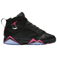 jordan 7 black. jordan retro 7 - girls\u0027 grade school black / pink 2