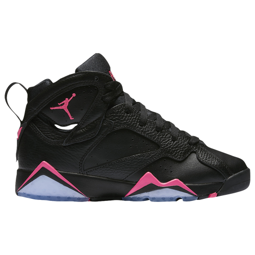 Jordan Retro 7 - Girls' Grade School - Basketball - Shoes - Black/Hyper Pink/Hyper  Pink