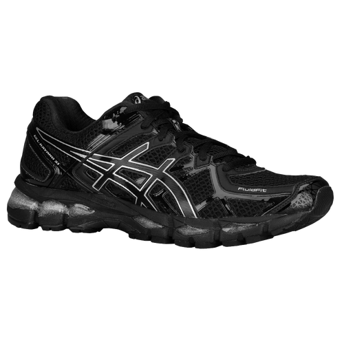The new Asics Gel kayano 21 Men's Shoes Onyx/Black/Silver Width D Medium