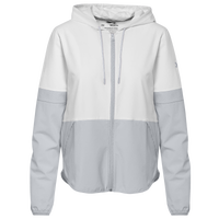Under Armour Team Squad Woven 2.0 Warm-Up Jacket - Women's - White / Grey