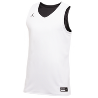 Jordan Team Reversible Practice Jersey - Men's - White / Black