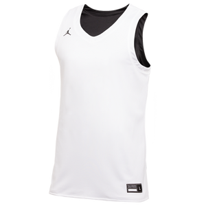 Jordan Team Reversible Practice Jersey - Men's - Black/White