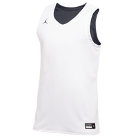 Jordan Team Reversible Practice Jersey - Men's - White / Grey