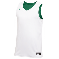 Jordan Team Reversible Practice Jersey - Men's - White / Dark Green