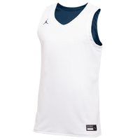Jordan Team Reversible Practice Jersey - Men's - White / Navy