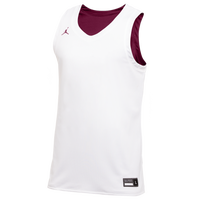 Jordan Team Reversible Practice Jersey - Men's - White / Maroon