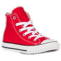 70e4306c9ddb Converse All Star Hi - Boys  Preschool - Red   White