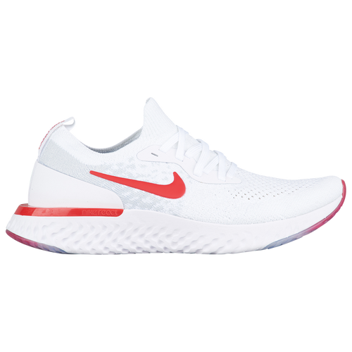 check out a396c be116 Nike Epic React Flyknit - Boys  Grade School - Nike - Running -  White University Red Platinum
