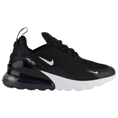 Nike Air Max 270 - Boys' Grade School - Casual - Shoes -  Black/White/Anthracite