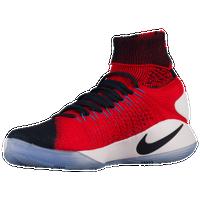 Nike Hyperdunk 2016 Flyknit - Men\u0027s - USA - Navy / Orange
