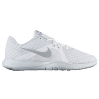 Nike Flex Trainer 8 - Women's - White / Silver
