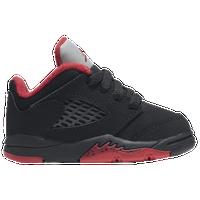 d05798e4f374ec Jordan Retro 5 Low - Boys  Toddler - Black   Red