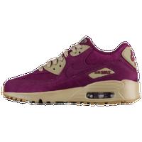 9300f9f242 Nike Air Max 90 - Boys' Grade School - Purple / Tan