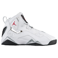 3ffb6ba64483ff Jordan True Flight - Boys  Grade School - White   Red