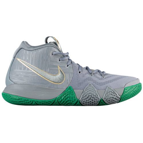 Nike Kyrie 4 - Men\u0027s - Kyrie Irving - Silver / Gold
