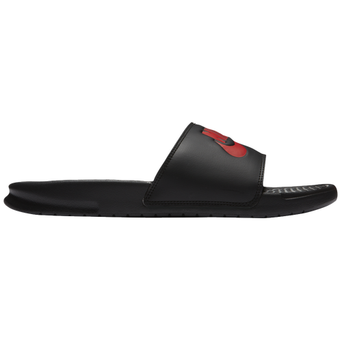 0b0d968e36c8 Nike Benassi JDI Slide - Men s - Casual - Shoes - Black Gym Red White