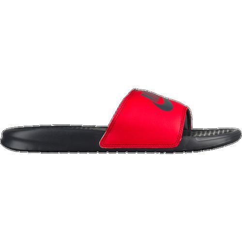 bb8035f7745 Nike Benassi JDI Slide - Men s - Casual - Shoes - Anthracite University  Red Team Red