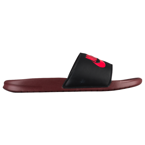 85f5d88f66fc Nike Benassi JDI Slide - Men s - Casual - Shoes - Dark Red Solar Red Black