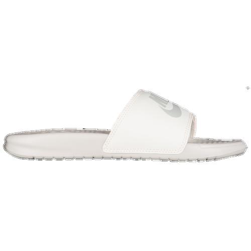 Discounts Nike Benassi Jdi Slide Light Bone/Sail/Crimson Tint For Women On Sale