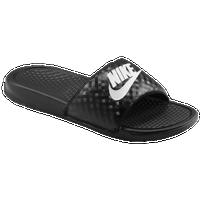 Nike Benassi JDI Slide - Women's - Black / White