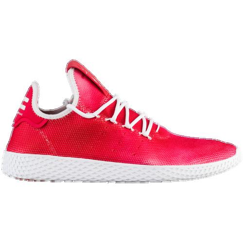 Adidas Originali Pw Tennis Hu Uomini Scarpe Casual Rosso / Bianco