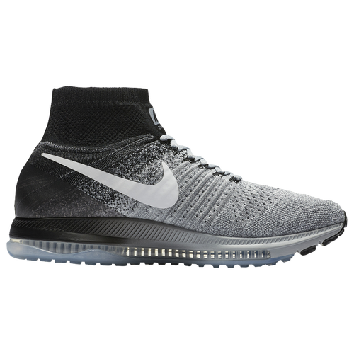 Nike Zoom All Out Flyknit - Men's - Running - Shoes - Wolf Grey/Black/Pure  Platinum/White